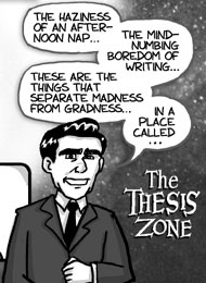 the thesis zone